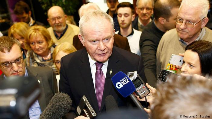 Irland Wahlen Martin McGuinness