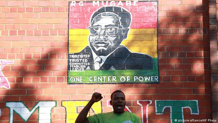 Mugabe painting