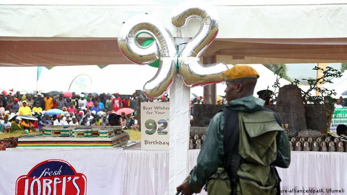 Mugabe birthday balloon