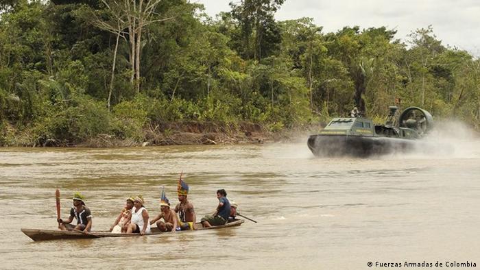 Armee und Polizei in Kolumbien (Fuerzas Armadas de Colombia)