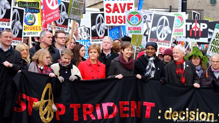 Stop Trident March And Rally