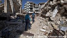 Syrien Kinder in Homs