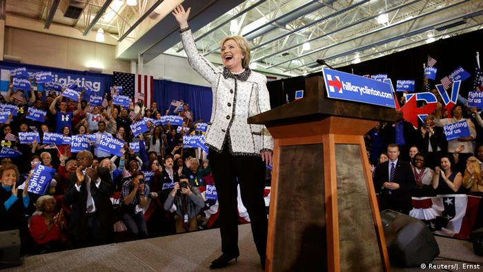 USA Vorwahl Demokraten in South Carolina - Sieg Hillary Clinton