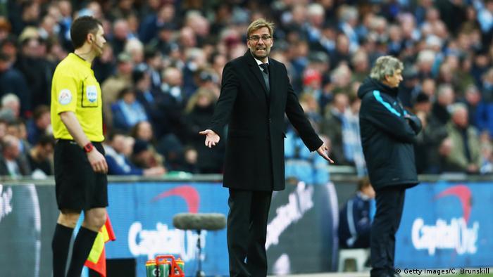 Jurgen Klopp Graceful In English League Cup Final Defeat
