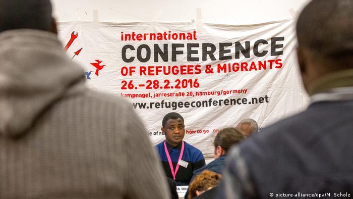 Hamburg Flüchtlingskonferenz