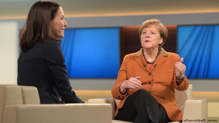 Angela Merkel bei Anne Will