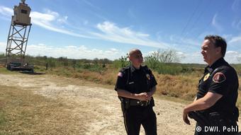 USA Texas Border Control Jose Cruz und Jerry Brumley