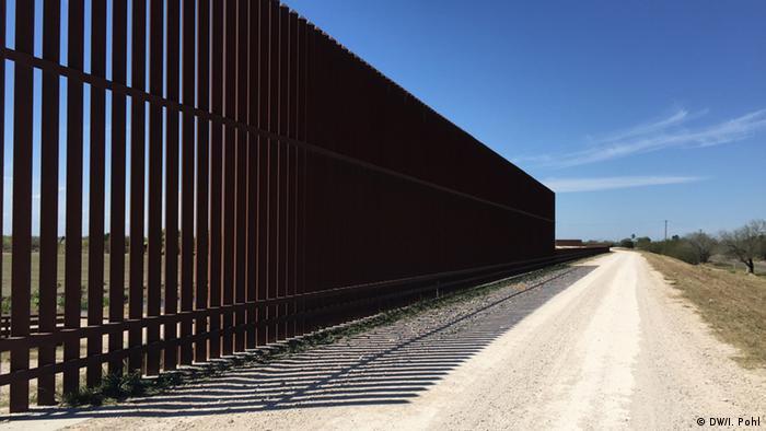 USA Texas Border Control Zaun