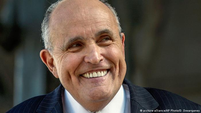 Rudolph Giuliani (picture-alliance/AP Photo/D. Dovarganes)