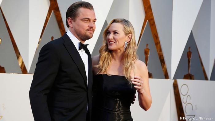 88. Oscarverleihung Oscars Red Carpet Kate Winslet und Leonardo DiCaprio