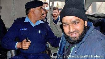 Pakistan Mumtaz Hussain Qadri (picture-alliance/dpa/Md Nadeem)