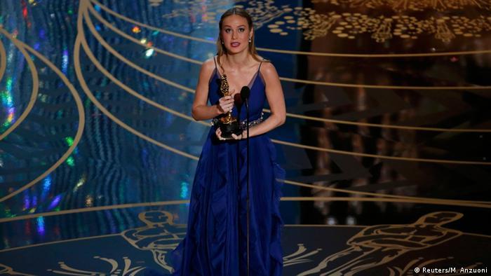 بری لارسون برنده اسکار بهترین هنرپیشه زن نقش اصلی برای بازی در فیلم اتاق شد