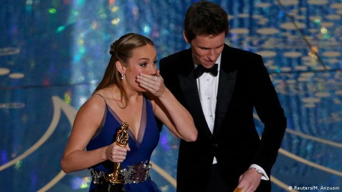 Schauspielerin Brie Larson bei der 88. Verleihung der Oscars (Foto: Reuters/M. Anzuoni)