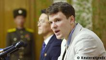 Nordkorea Pressekonferenz Otto Warmbier