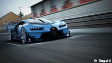 Bugatti Vision Gran Turismo. Frei zur Verwendung für Pressezwecke Quelle: Bugatti