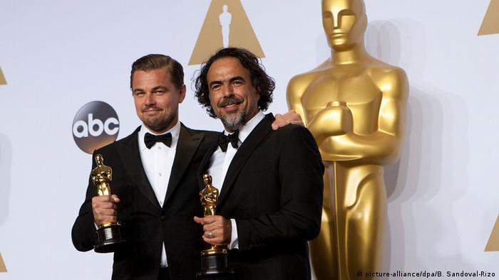 88. Oscarverleihung Oscars Leonardo DiCaprio und Alejandro Gonzalez Inarritu