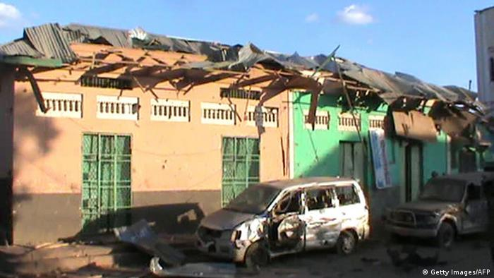 Terrorist attack in Baidoa