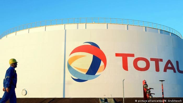 Deutschland Raffinerie Total in Leuna