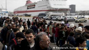 Griechenland Flüchtlinge in Piräus