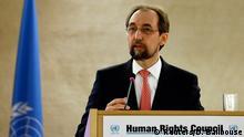 UN Kommissar für Menschenrechte Zeid Ra'ad Al Hussein