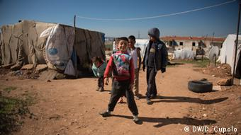 Türkei Flüchtlingslager in Izmir
