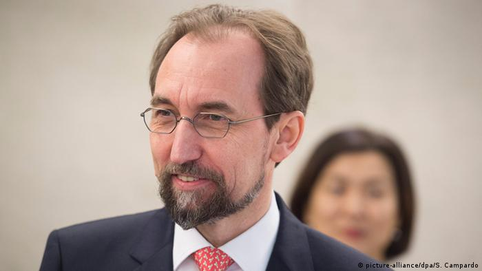 Schweiz Genf Zeid Ra'ad Al Hussein, UN High Commissioner for Human Rights