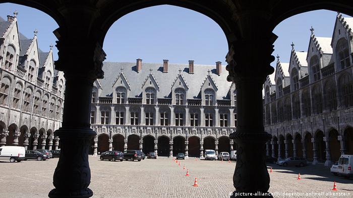court building in Liege, Belgium