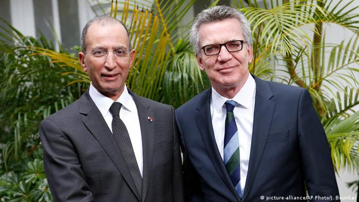 Marokko Thomas de Maiziere trifft Mohamed Hassad