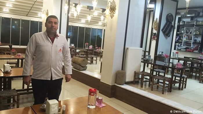 Alaaddin Kilic, Restaurant owner in Diyarbakır (Photo: DW/Duran)