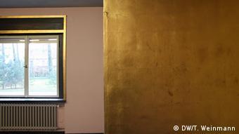 Сусальное золото в гостиной Кандинского