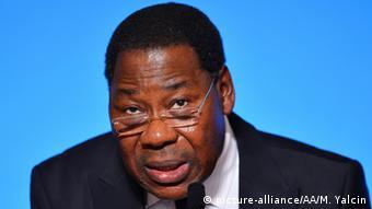 Frankreich Paris Benin's Präsident Thomas Boni Yayi