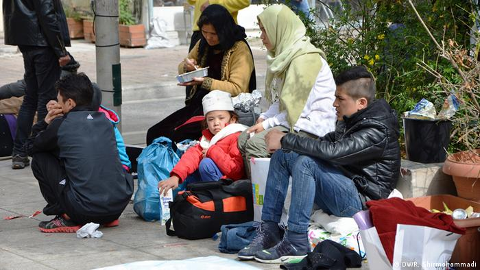 An uncertain future for Afghan refugees on arrival in Greece (archive picture)