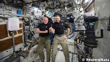 USA Nasa Astronauten Scott Kelly & Michail Kornijenko