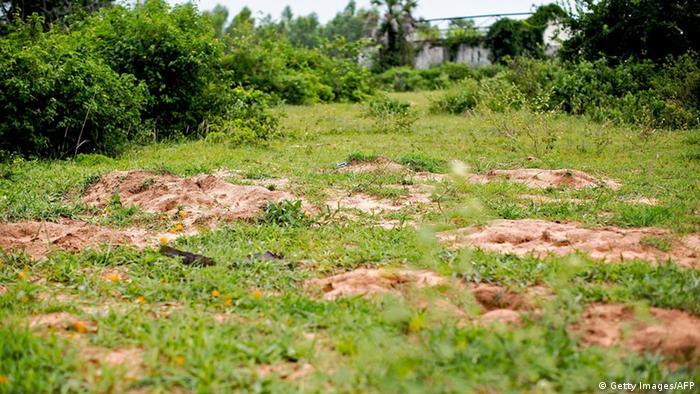 Burundi Buringa - vermutetes Massengrab