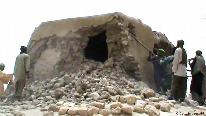 Mali Timbuktu Zerstörung von Kulturstätte durch islamistische Rebellen