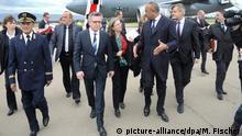 Algerien Innenminister Thomas de Maizière & Noureddine Bedoui