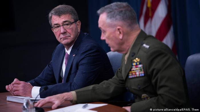 USA Ashton Carter und Joseph Dunford PK in in Arlington