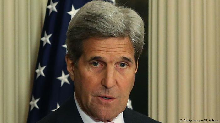 USA John Kerry in Washington