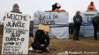 Frankreich Räumung Flüchtlingslager Dschungel von Calais