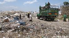Kenia Dandora Mülldeponie in Nairobi