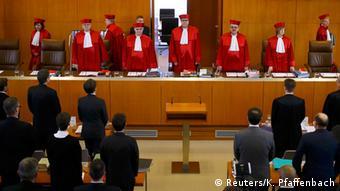 قضات دادگاه قانون اساسی آلمان