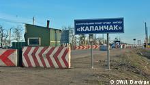 Ukraine am Grenzübergang Kalantschak