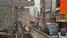 Bangladesch Verkehrschaos in Dhaka