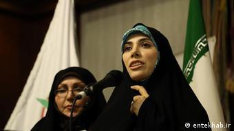 Iranische Frauen im Parlament: Fatemeh Hosseini