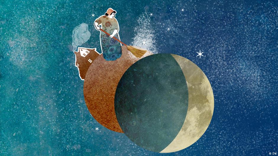 Hinter dem Mond leben