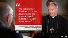 Bischof Bernard Fellay bei Conflict Zone