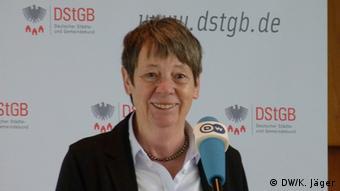 Bundesumweltministerin Barbara Hendricks (Foto: DW/K.Jäger).