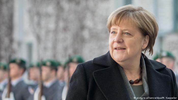 Deutschland Kroatien Oreskovic bei Merkel