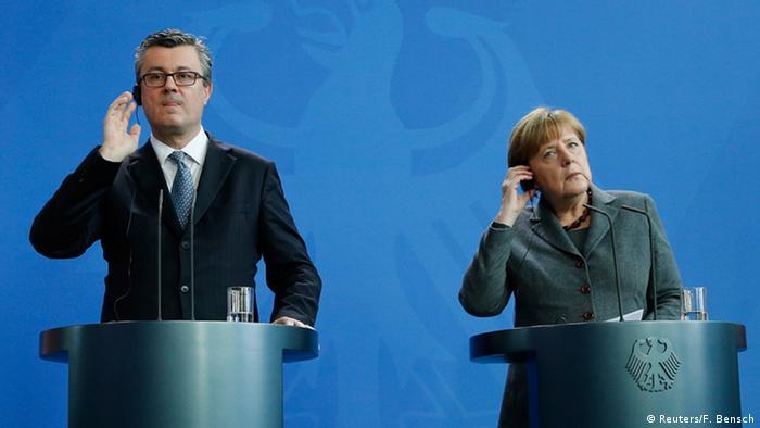 Deutschland Kroatien Oreskovic bei Merkel PK