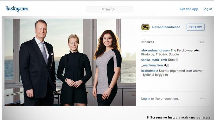 Screenshot Screenshot Instagram/alexandraandresen